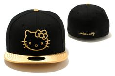 Hello Kitty Fitted Caps $77