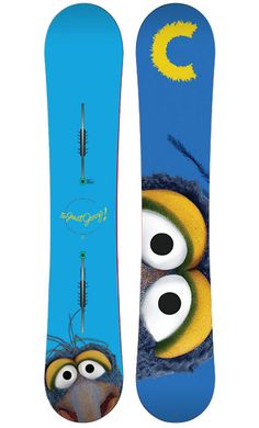 """Burton """"the muppets"""" boards series"""