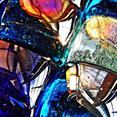 Glass Abstract 41 Photograph by Sarah Loft