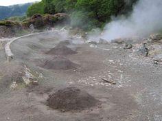 Hou je van stoofpot? Dé traditionele bereidingswijze van dit gerecht op het Portugese eiland São Miguel is onder de grond. Het vulkanische gebied Furnas staat bekend om de Cozido, ´n stoofpot met vlees, die 6 uur in de ondergrondse thermische warmte verdwijnt. #SãoMiguel #Azoren #Portugal