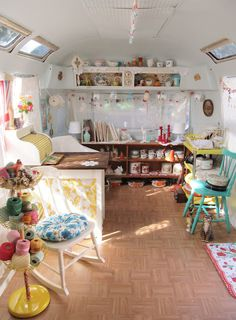 A shop on WHEELS!?  Inside Gladys, Dottie Angel's pop up shop on wheels.