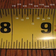 Wood Profit - Woodworking - how to read a measuring tape. Its sad I really can never remember what each mark is for! :) Discover How You Can Start A Woodworking Business From Home Easily in 7 Days With NO Capital Needed! Do It Yourself Furniture, Do It Yourself Home, Tips & Tricks, Simple Life Hacks, Tape Measure, How To Measure, Woodworking Projects, Fine Woodworking, Woodworking Skills