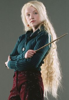 Luna. I really liked how they plucked Evanna Lynch out of nowhere, and then she turns out to be one of the best casting choices. Love it.