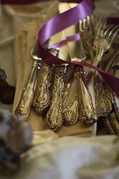 Lovely silver utensils...French-Kissed.ocm