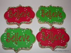 Christmas sugar cookies  https://www.facebook.com/sweetcharleyconfections