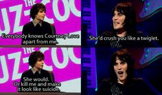 Simon Amstell & Noel Fielding, from Nevermind the Buzzcocks
