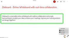 Ziteboard online whiteboard