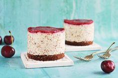 cukormentes sztracsatellas mini túrótorta recept Minion, Vanilla Cake, Tiramisu, Cheesecake, Healthy, Ethnic Recipes, Food, Diabetes, Yogurt
