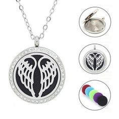 New arrival! floating perfume locket for lovers stainless steel magnetic essential oil diffuser locket necklace Silver Locket Necklace, Necklace Price, Pendant Necklace, Essential Oil Perfume, Essential Oil Diffuser, Expensive Necklaces, Diffuser Necklace, Jewelry Accessories, Chain