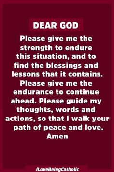 Powerful Prayer for Inner Strength – I Love Beign Catholic – Jesus Christ ~ Virgin Mary – Rosary Prayers ~ Lent fasting ~ Catholic Prayer Prayer Scriptures, Bible Prayers, Faith Prayer, God Prayer, Prayer Quotes, Power Of Prayer, Spiritual Quotes, Bible Quotes, Positive Quotes