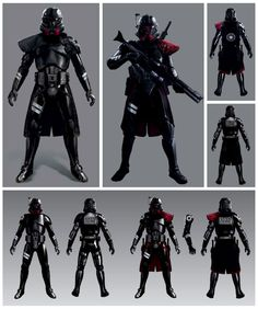 View an image titled 'Purge Trooper Concept Art' in our Star Wars Jedi: Fallen Order art gallery featuring official character designs, concept art, and promo pictures. Star Wars Pictures, Star Wars Images, Star Wars Concept Art, Star Wars Fan Art, Star Wars Rpg, Star Wars Clone Wars, Game Art, Stormtrooper Art, Star Wars Models