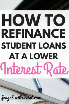 Refinancing your loans at a lower interest rate results in an average savings of over $200/month!! Sign me up!!!