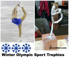 olympic skating trophy