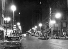 A view of 16th Street in downtown Omaha looking south on March 4, 1972. THE WORLD-HERALD