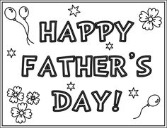fathers day coloring pages 1
