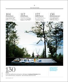 Magazine Layout | Table Of Contents