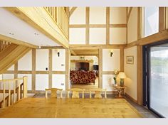 Oakwrights traditional oak framed 'country homes' Oak Frame House, Self Build Houses, English House, Sunroom, Building A House, House Design, Traditional, Country Homes, Furniture