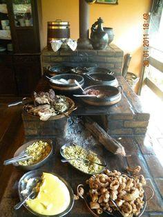 Comida Mineira no fogão a Lenha