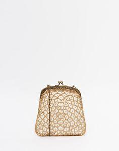 Image 1 - Moyna - Pochette style vintage délicatement ornée de perles