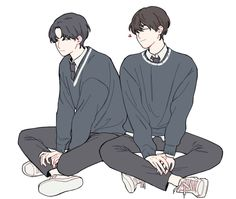 Find images and videos about boy, anime and friend on We Heart It - the app to get lost in what you love. Friends Illustration, Boy Illustration, Character Illustration, Digital Illustration, Anime Boys, Cute Anime Boy, Aesthetic Art, Aesthetic Anime, Manga Art