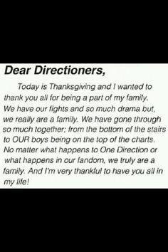 We are family ! The boys brought us all together I love my one direction family ! I Am Grateful, Thankful, Real Movies, Midnight Memories, Let Me Down, Bring It On, Let It Be, We Are Family, I Found You