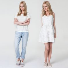 #brandpl #new #newcollection #newarrivals #ss15 #summer #tshirt #jeans #denim #dress #dresses #levi #levistshirt #liveinlevis #levisdress #levisjeans