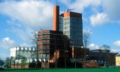 James Stirling and James Gowan's Engineering Building represented a shift from functionalist doctrines of the postwar period