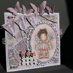 Solveigs Hobbyblogg Magnolia Stamps, Magnolias, Fairies, Angels, Crafting, Christmas Ornaments, Holiday Decor, Children, Girls