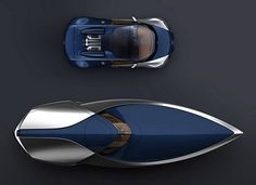 Bugatti Veyron Speedboat and car
