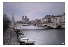 Tournelle bridge  PARIS - Paris, Ile-de-France