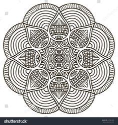 stock-vector-mandala-round-ornament-pattern-vintage-decorative-elements-hand-drawn-background-islam-arabic-227881489.jpg 1,500×1,600 pixels