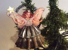 YAY!!! I have now received my first set of ornaments too! They travelled a long, long way, from Dianne in Minnesota, USA to me here in Fjord Norway! I almost cried when I unwrapped Dianne's s… Christmas Ornaments To Make, Christmas Fairy, Victorian Christmas, Homemade Christmas, Christmas Angels, Christmas Projects, Vintage Christmas, Christmas Decorations, Christmas Ideas