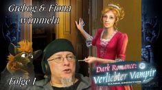DARK ROMANCE Verliebter Vampir ♥ Folge 1 ♥ Wimmelbild mit Handpuppe Fiona
