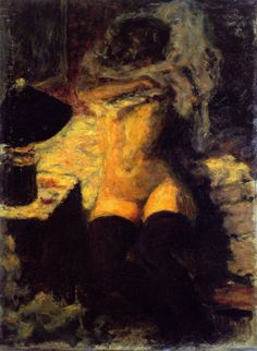 Pierre Bonnard and the Black Stockings …                                                                                                                                                                                 More
