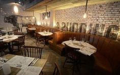 Designs has created a true rustic feel in Beef and Pudding restaurant Rustic Restaurant Interior, Bar Interior, Diy Rustic Decor, Rustic Design, Restaurant Booth, Lighting Uk, Rustic Feel, Booth Design, Decor Styles