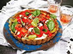 Salaattipiirakka on kesäkutsujen hitti - Himahella I Foods, Tofu, Camembert Cheese, Dairy, Photos, Pictures