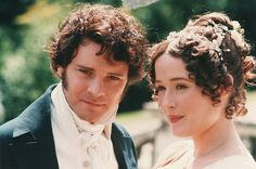 "Description=Colin Firth and Jennifer Ehle as Mr Darcy and Elizabeth Bennet in a dramatisation of Jane Austen's ""Pride & Prejudice"" for the BBC, pictured at Harrow School, Harrow on the Hill - Copyright Alan Weller / The Times. Colin Firth, Mr Darcy And Elizabeth, Elizabeth Bennett, Eliza Bennett, Matthew Macfadyen, Anna Chancellor, North And South, Moda Lolita, Pride And Prejudice"