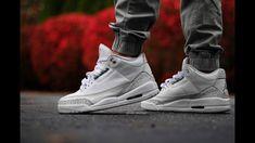 bcb34461bf Jordan 3 Pure White aka Triple White Early Detail Review. Air Max  SneakersSneakers NikeJordan ...