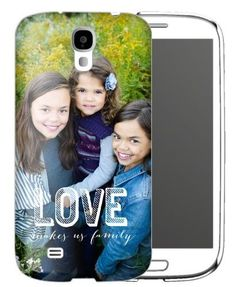 Love Makes Family Samsung Galaxy Case, Slim case, Matte, Samsung Galaxy S4, DynamicColor
