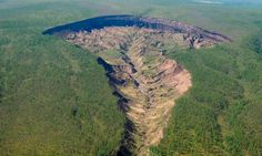 For decades, a giant crater has been growing in Siberia. It was allegedly kicked…