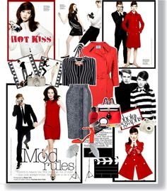 """""""Mod rules"""" by hieuanh ❤ liked on Polyvore"""