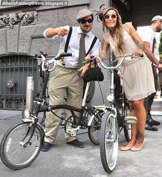 Milano Folding Bikers | Shared from http://hikebike.net