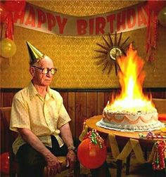 OLD MAN BIRTHDAY♥