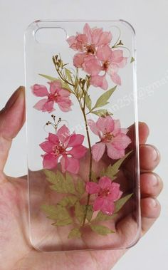 Iphone 6 Case,Pressed Flower Phone