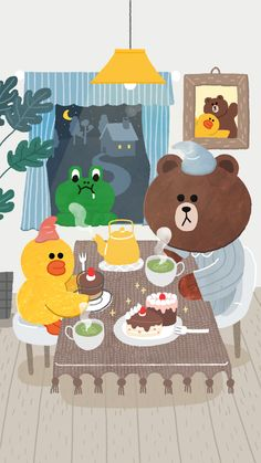 LINE friends. on Behance
