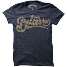 Believe Indigo by Arquebus Clothing #radtees