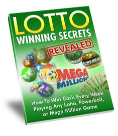 Lotto Winning Secrets Revealed - Download FREE Report.Inside this free report you will learn about how to win cash every week,playing any Lotto,Powerball or Mega Million Game!