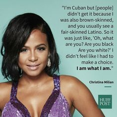 Christina Milian | 9 Famous Faces On The Struggles And Beauty Of Being Afro-Latino: The reality of being Black AND Latino in the entertainment industry