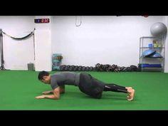 46.【筋トレ】1分間〜ながらトレーニング -Rotating Three-Point Plank-
