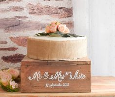 Rustic Wooden Wedding Cake Stand | Home, Furniture & DIY, Wedding Supplies, Cake Stands & Plates | eBay!